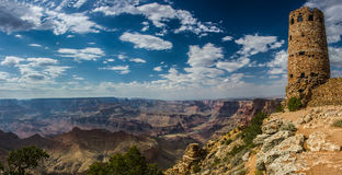 Desert view watchtower Grand Canyon Royalty Free Stock Image