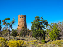 Desert View Watchtower, Grand Canyon Royalty Free Stock Photography