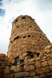 Desert View Watchtower Grand Canyon Royalty Free Stock Photography