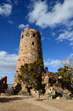 Desert View Watchtower in Grand Canyon South Rim, Arizona, US Royalty Free Stock Photography