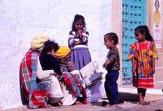 Desert village life, Jaisalmer, India Stock Image