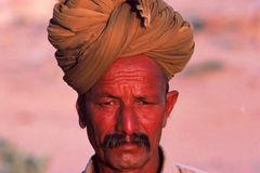Desert village life, Jaisalmer, India Royalty Free Stock Photography