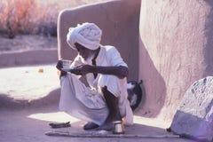 Desert village life, Jaisalmer, India royalty free stock image