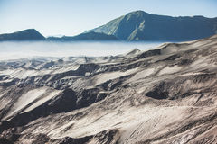 Desert of Volcano Bromo Royalty Free Stock Photography