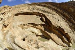 Desert wadi in Negev, Israel. Stock Image
