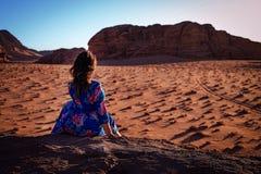 Desert Wadi Ram Jordan.
