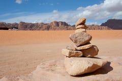 Desert of Wadi Rum Royalty Free Stock Photos