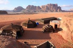 The Desert Wadi Rum in Jordan Royalty Free Stock Image