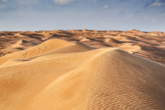 Desert Wahiba Oman Stock Photography