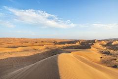 Desert Wahiba Oman Royalty Free Stock Image