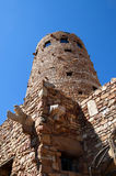 Desert Watch Tower above the Grand Canyon Royalty Free Stock Photography