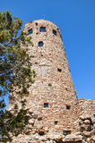 Desert Watch Tower above the Grand Canyon Royalty Free Stock Photo