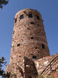 Desert Watch Tower above the Grand Canyon Royalty Free Stock Photos