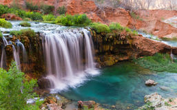Desert waterfalls Stock Photography