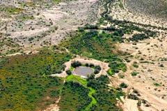 Desert Watering Hole Royalty Free Stock Photo