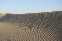 Desert wave Royalty Free Stock Images