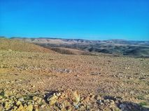 Desert of western Sahara Royalty Free Stock Images