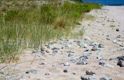 Desert wild beach Stock Photo