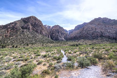 Desert wilderness and mountain canyon Royalty Free Stock Images