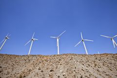 Desert Windmill Hill Royalty Free Stock Photo