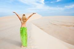 Desert woman Stock Photography