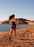 Desert Workout Royalty Free Stock Image