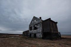 Deserted abandoned ruin old house, Haunted house. Deserted abandoned ruin old house , Haunted house Royalty Free Stock Photo