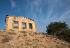 Deserted abandonou a casa fotografia de stock