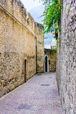 Deserted alleyway Royalty Free Stock Photo