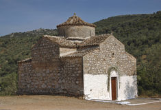 Deserted Ancient Church in Ancient Greece Royalty Free Stock Photography