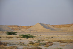 DESERTED AREA OF QESHM ISLAND IRAN Royalty Free Stock Image