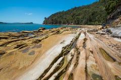 Deserted Australian beach Stock Images