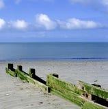 Deserted beach Stock Images