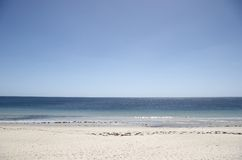 Deserted Beach. Beach with no one on it Royalty Free Stock Photography