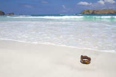 Deserted beach Royalty Free Stock Images