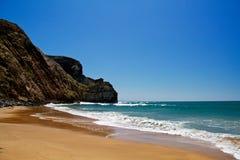 Deserted beach Royalty Free Stock Photos