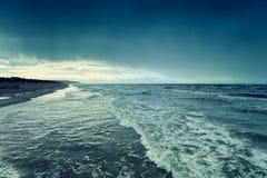 Deserted beach Stock Photography