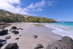 Deserted beach Royalty Free Stock Image