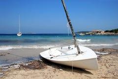 Deserted boat Royalty Free Stock Image
