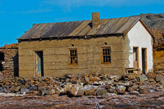 Deserted building. Deserted ruin of building on Halifax island Stock Photography