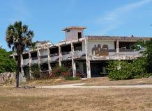 Deserted Building At Playa del Este Cuba Stock Image