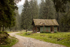 Deserted cabin Royalty Free Stock Image