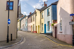Deserted Cobbled Street royalty free stock photography