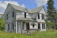 Deserted country home Royalty Free Stock Photos