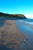 Deserted Cove. New Aberdour beach in Aberdeenshire Stock Images