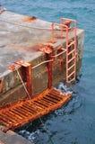 Deserted dock Stock Photo