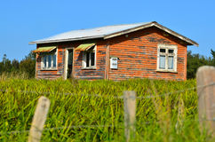 Deserted farm house. Royalty Free Stock Images