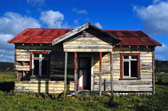 Deserted Farm House, NZ Royalty Free Stock Photos
