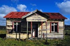 Deserted Farm House, NZ Royalty Free Stock Photos