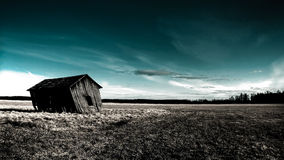 Deserted haunted house Royalty Free Stock Photography